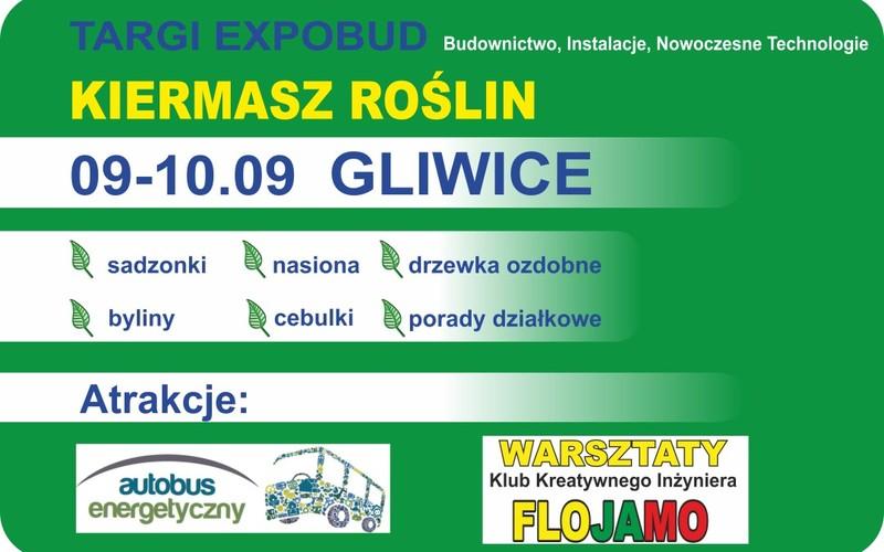 Targi EXPOBUD GLIWICE 09-10.09 Kiermasz roślin Promocja-Targi.pl