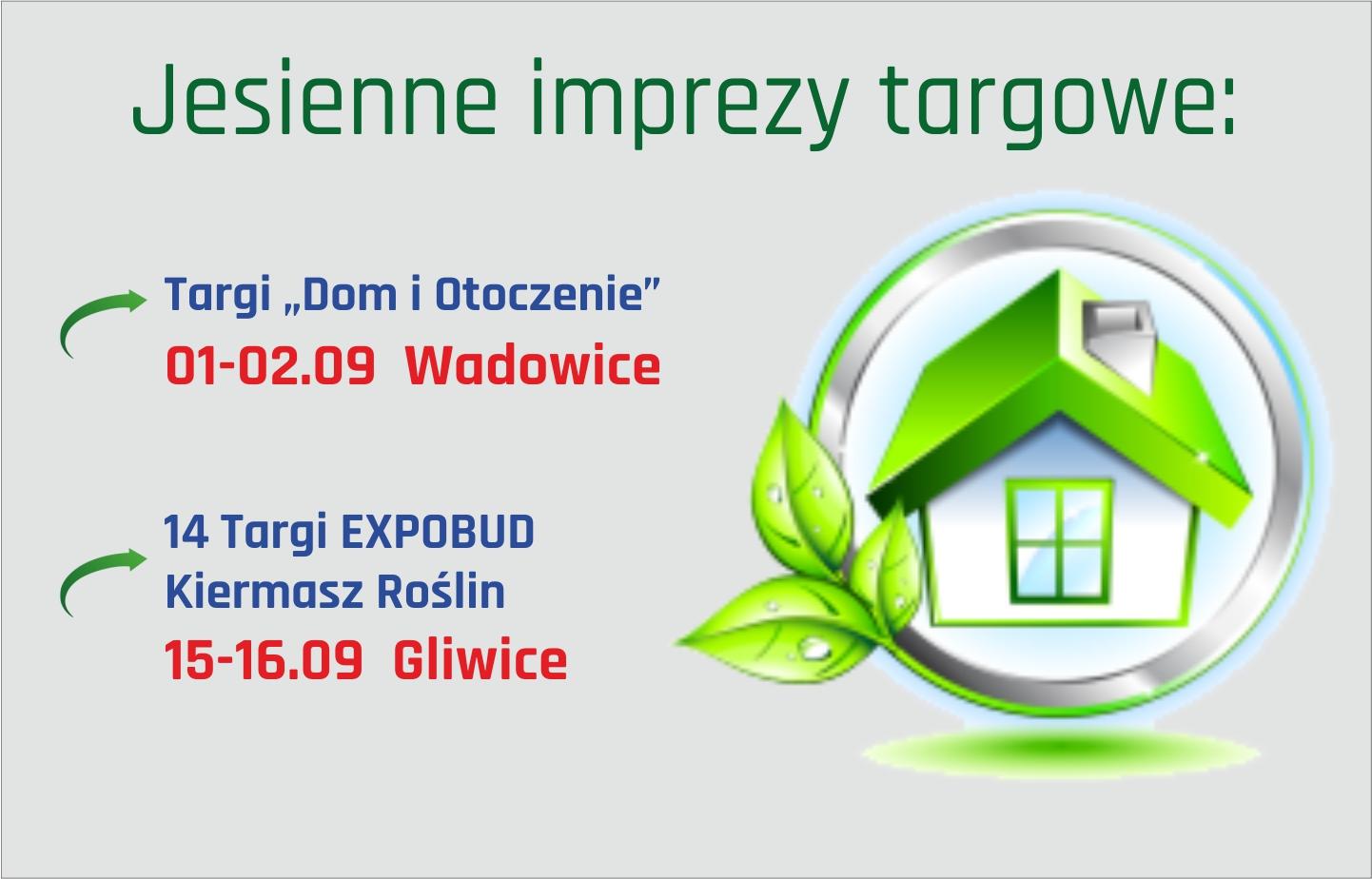 Kolejne edycje targów juz we wrześniu Zapraszamy! Promocja-Targi.pl